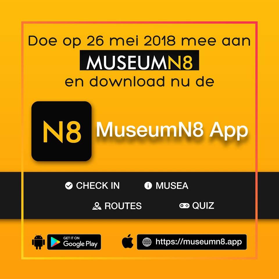 MuseumNachtapp gebouwd door Alembo