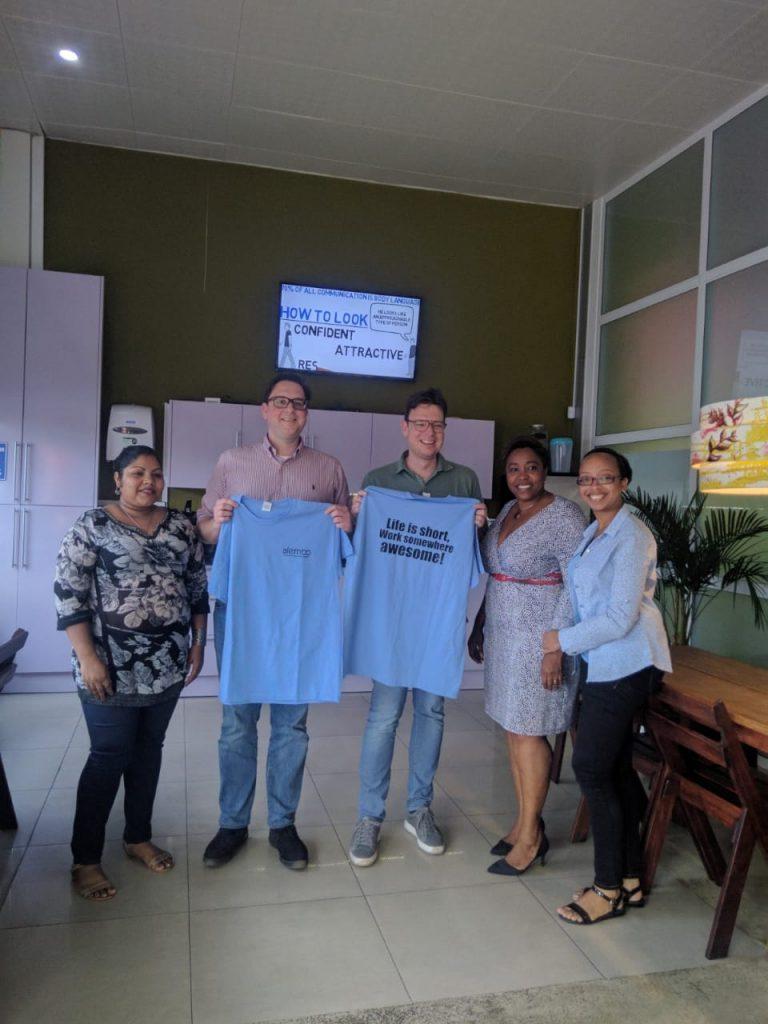 Van 't Hul Accountancy bezoekt Suriname