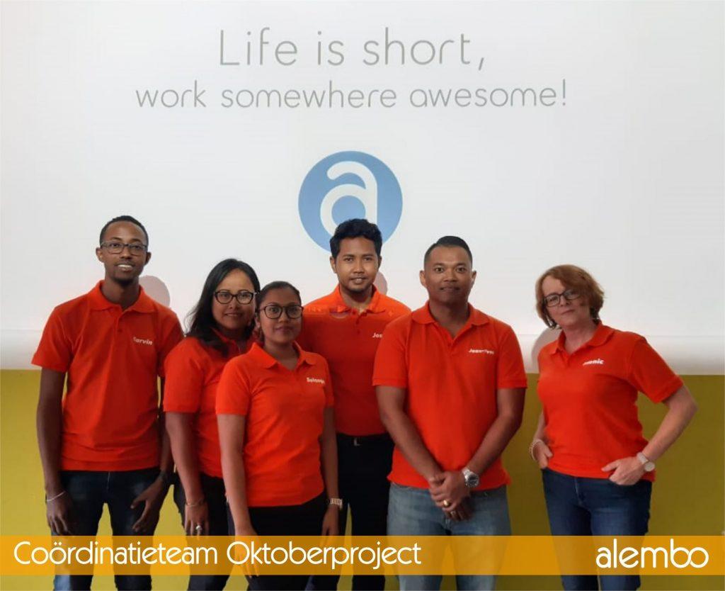 150 fte geworven voor oktober project gegevensverwerking Alembo