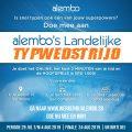 Landelijke typewedstrijd Alembo