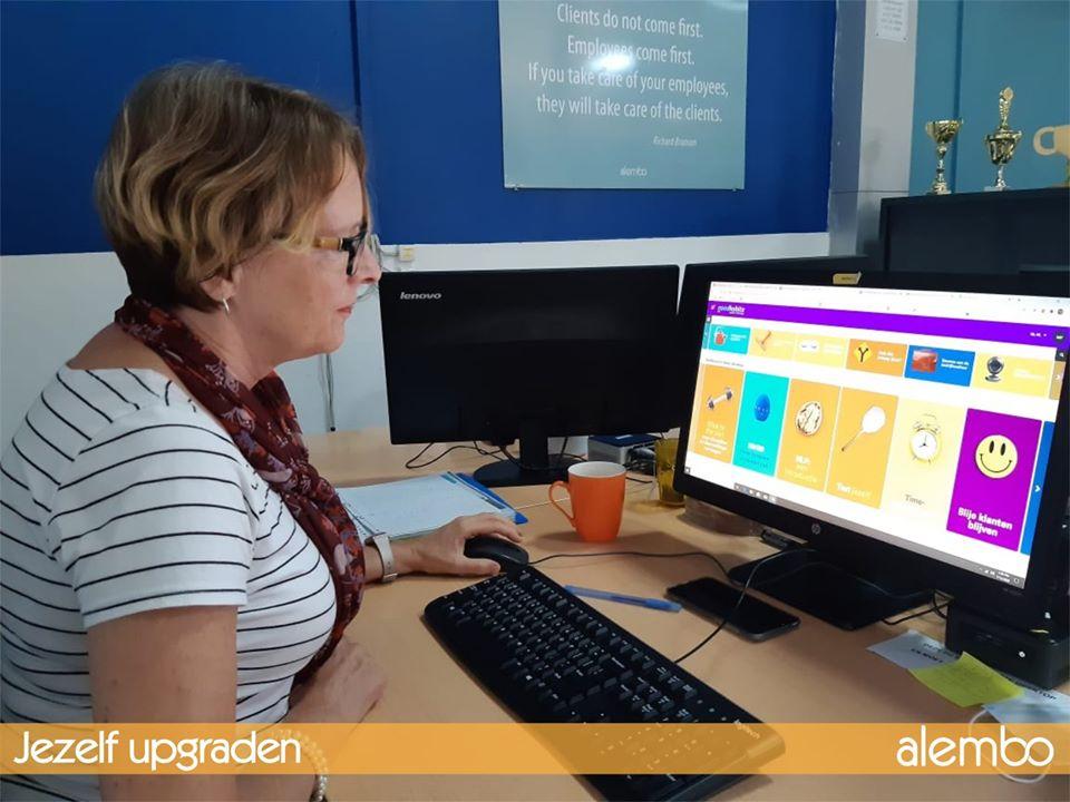 alembo gebruikt Goodhabitz voor online trainingen